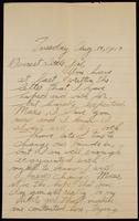 Recipient: Marie (August 14, 1917)