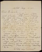 Recipient: Blanche (August 15, 1917)