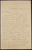 Recipient: Marie (August 20, 1917)