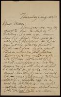 Recipient: Marie (August 23, 1917)