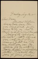 Recipient: Marie (August 31, 1917)