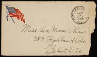 Recipient: Marie [envelope only] (September 4, 1917)