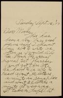 Recipient: Marie (September 16, 1917)