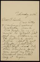 Recipient: Blanche (September 20, 1917)