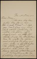 Recipient: Marie (October 26, 1917)