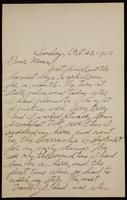 Recipient: Marie (October 28, 1917)