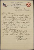 Recipient: Marie (November 22, 1917)