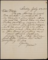 Recipient: Marie (July 29, 1917)