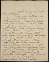 Recipient: Marie (August 1, 1917)