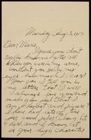 Recipient: Marie (August 3, 1917)