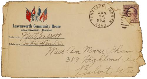 Letters of Forrest W. Bassett