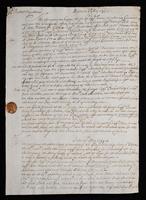 Correspondence: May 1699