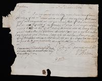 Correspondence: October 1696