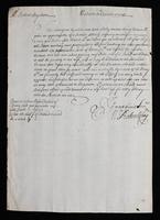 Correspondence: October 1700