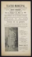 Gran debut de los notables artistas Tilda y Alak