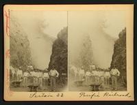Section 33 / P.R.R. [Pacific Railroad?]: men and wheelbarrows