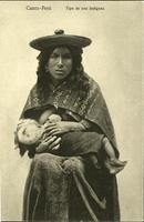 Postcard: Cuzco - Peru -- Tipo de una Indigena