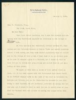 Letter to Dan D. Casement from W. H. Lynn