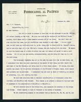 Letter to General J. S. Casement from W. H. Lynn