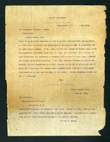 Copy of telegram exchange from Knox in Washington, D. C. and from William L. Merry in Battle Creek, Michigan