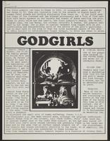 Godgirls [Process News Supplement]