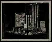 American Legion--WW II, window display