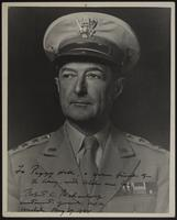8x10 photo of US Army Lt. General Robert C. Richardson to Peggy