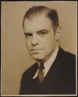 8x10 portrait of Harvey V. Deuell, last spouse of Peggy