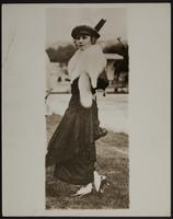 8x10 photo of Peggy during WWI in Paris