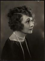 6x8 portrait of Peggy Hull