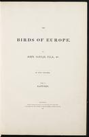 Birds of Europe, 1:6