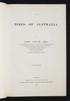 Birds of Australia, 1s:6