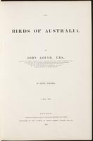 Birds of Australia, 1:6