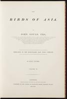 Birds of Asia, 1:6