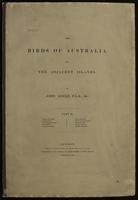 Birds of Australia, and the adjacent islands: Volume II