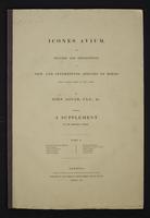 Icones Avium, 1:front