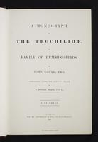 Monograph of the Trochilidae, 1s:6