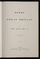 Birds of Great Britain, 1:6