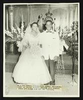 Howard Kendall and Bonnie Underwood wedding at Calvary Baptist Church