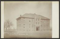 High School - Almena, Kansas