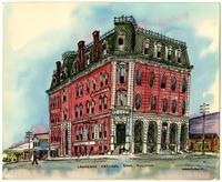 Lawrence National Bank - Watercolor