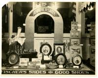 Fishcer and Son Shoes, 75th Anniversary Display Window