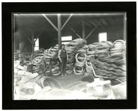 Consolidated Barbed Wire Co. Warehouse Interior