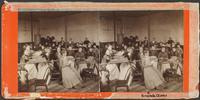 Ladies Methodist-Episcopal Church Society quilting group