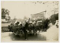 First Village of Lawrence float (75th Anniversary Historic Parade)