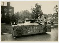 Gulley Garage float (75th Anniversary Historic Parade)