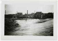 Taken from north bank looking towards downtown (1892 Flood)
