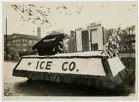 Ice Company float (75th Anniversary Historic Parade)