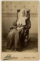 Probably Mrs. S.B. Bliss, mother of Lizzie Bliss Haskell