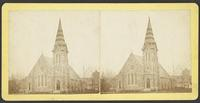 Trinity Episcopal Church, front and side